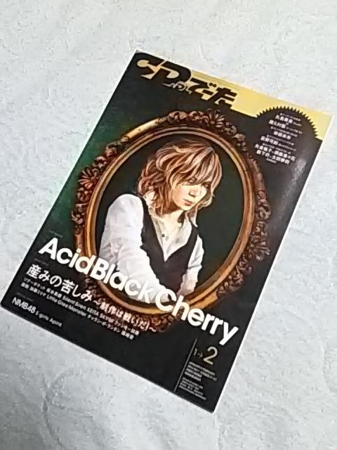 Acid Black Cherry 指輪 アームウォーマー_オマケ1