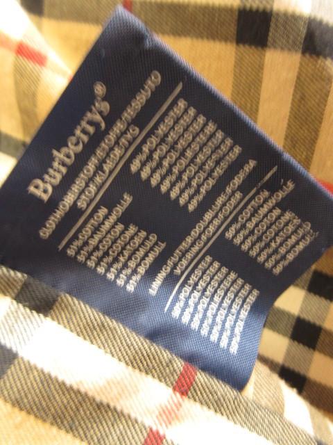 英国製◆ BURBERRYs バーバリー スプリングコート  ステンカラー コート ノバチェック メンズ ヴィンテージ_画像7