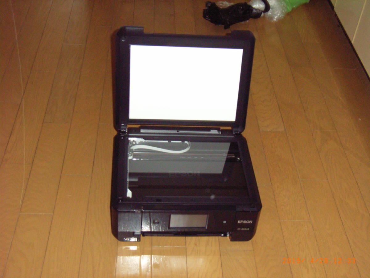 EPSON EP-808AB 動作確認済み A4トレイ欠品_画像3