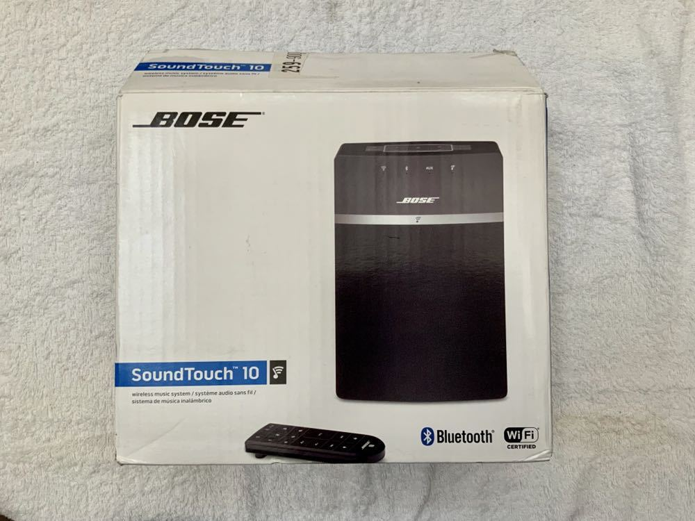 BOSE SoundTouch10 展示品 リモコン付き ボーズ スピーカー_画像8
