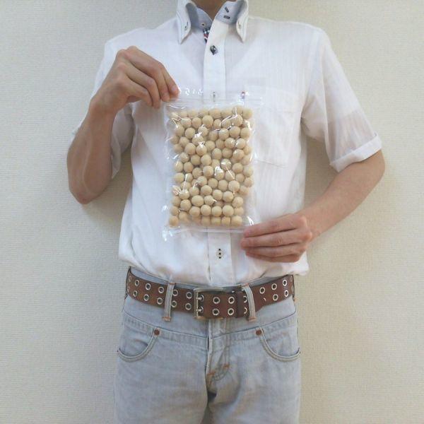 きなこ大豆 250g チャック袋 250gX1袋 九州工場製造品 黒田屋_画像3