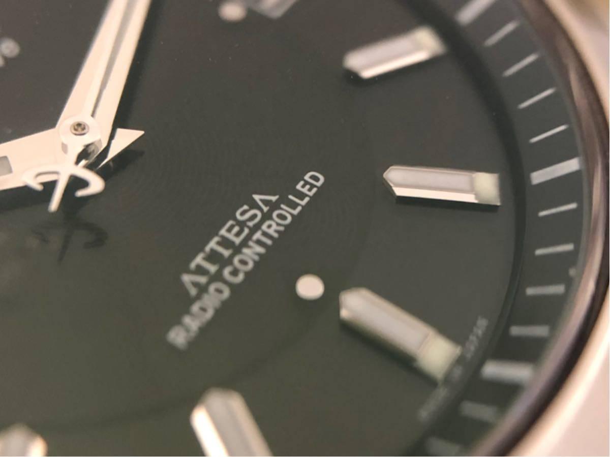 【1円~大人気】シチズン アテッサ エコドライブ 電波時計 CITIZEN WATCH ATTESA ATD53-2841 H110-T011331 クォーツ 腕時計【現行モデル】_画像7