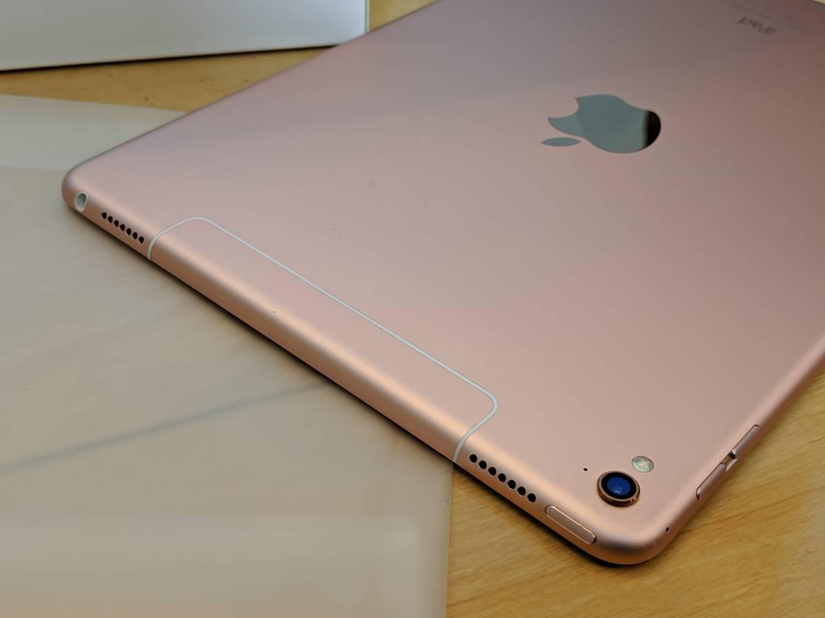【送料無料】Apple iPad Pro 9.7インチ Cellular 256GB ローズゴールド(国内版SIMフリー) MLYM2J/A_画像3