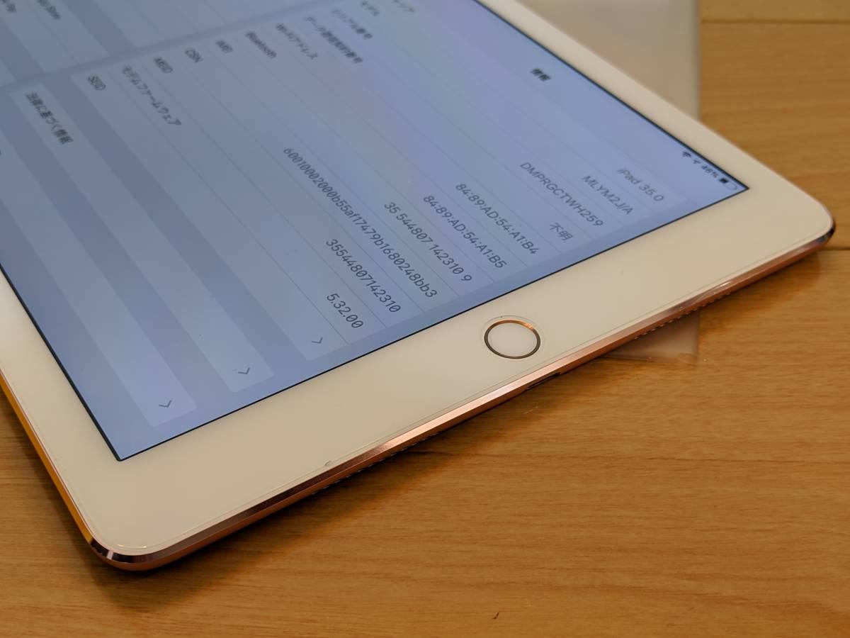 【送料無料】Apple iPad Pro 9.7インチ Cellular 256GB ローズゴールド(国内版SIMフリー) MLYM2J/A_画像6