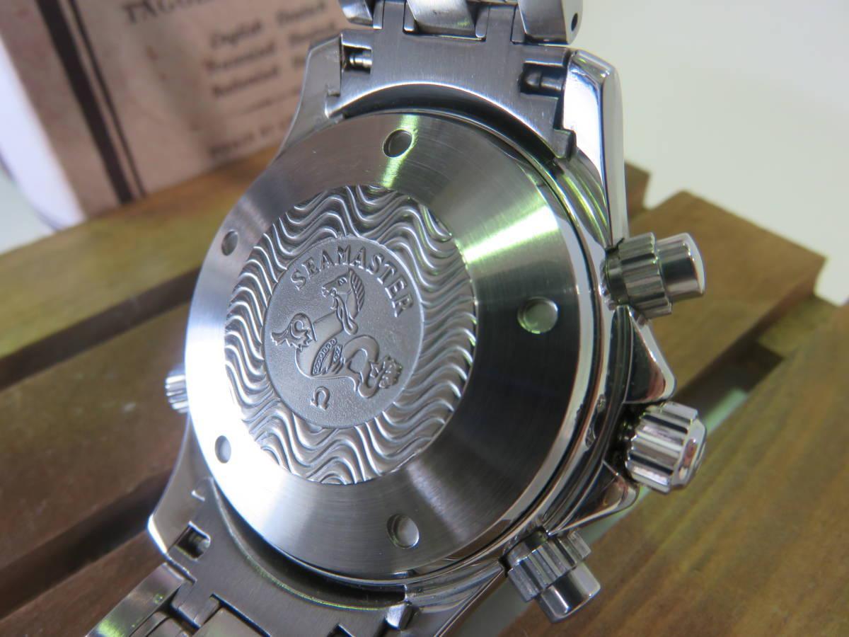RI★大人気★可動品 OMEGA オメガ シーマスター プロフェッショナル 300M クロノグラフ 自動巻き メンズ 腕時計 ウォッチ_画像3