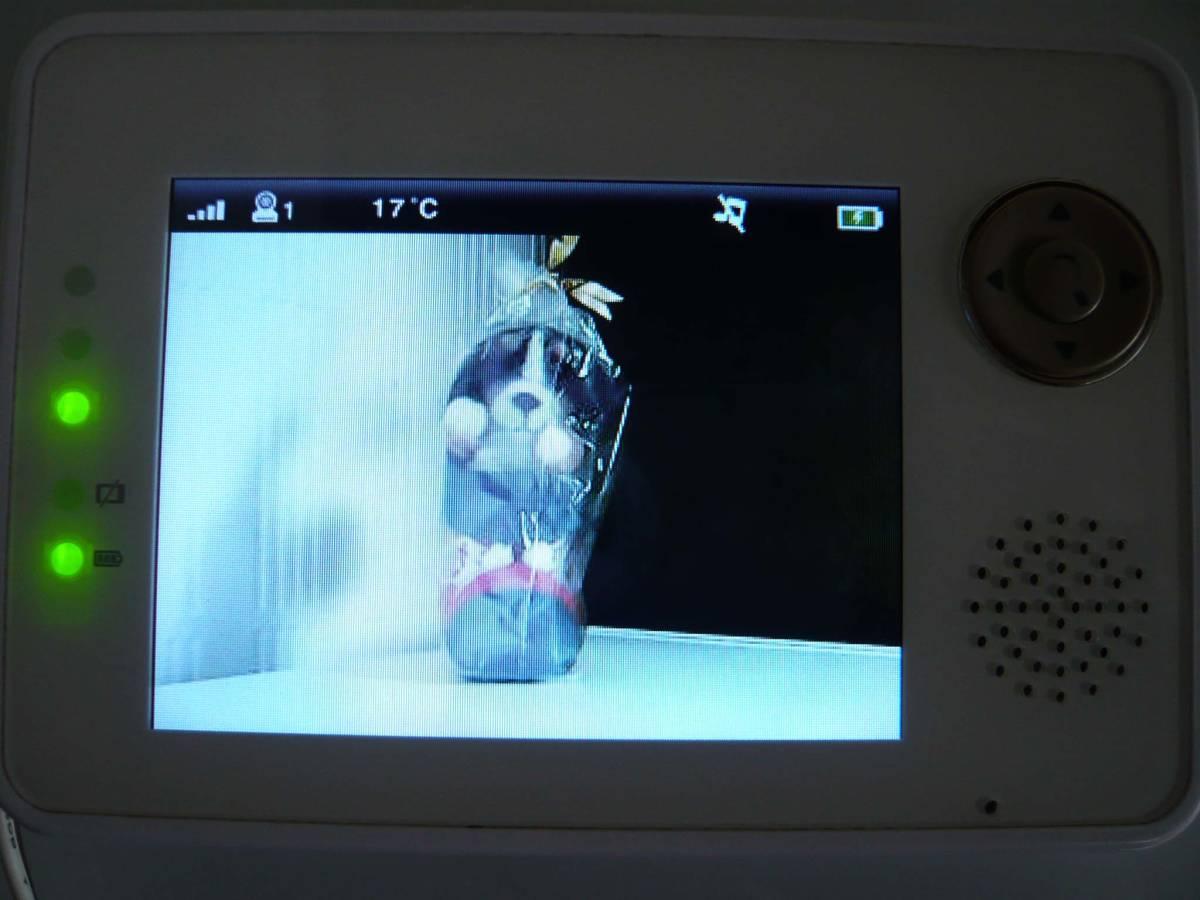●トリビュート ベビーモニター/ワイヤレスベビーカメラ BM-LT02● _画像2