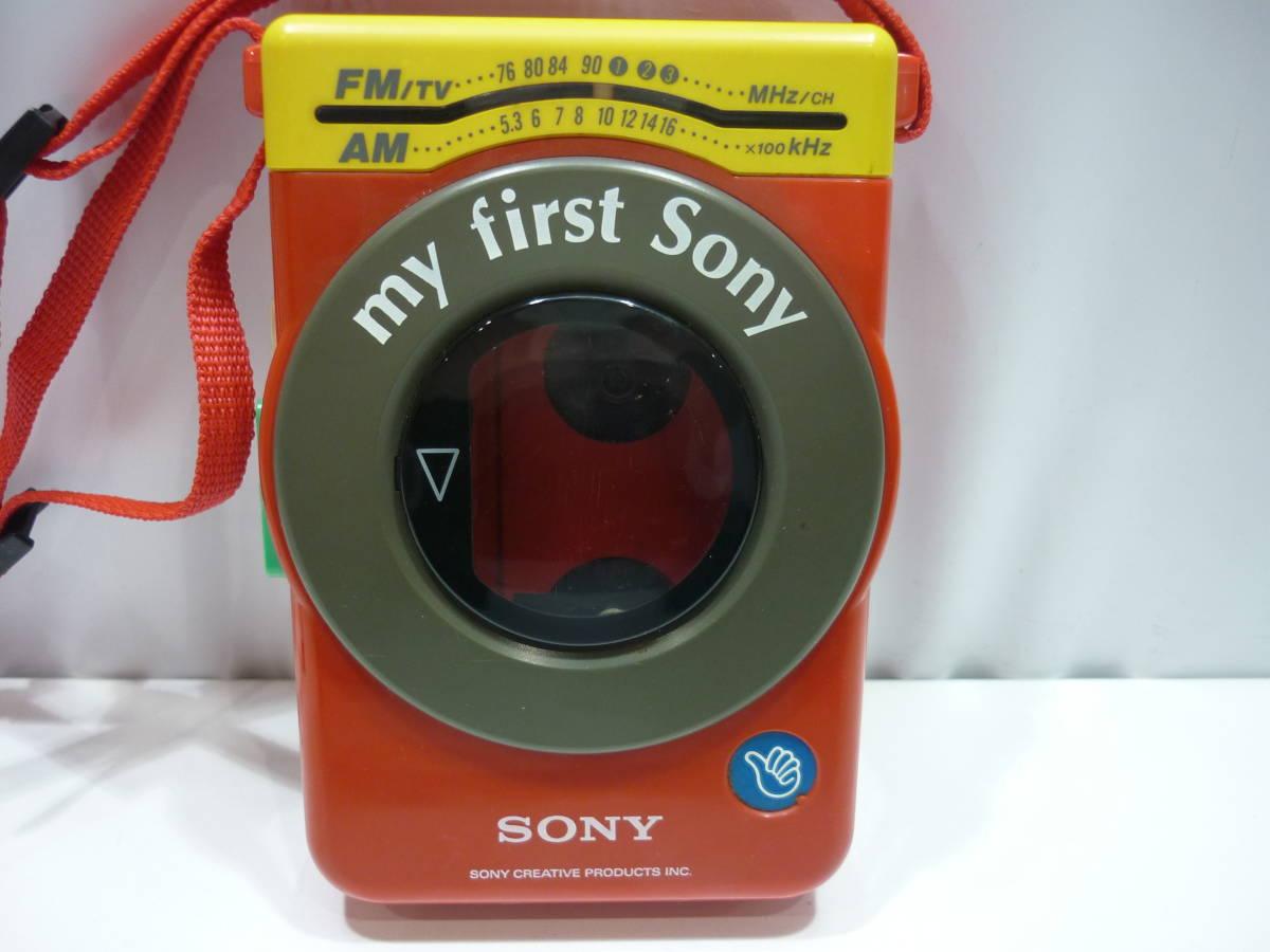 【ジャンク】#9321 SONY / ソニー ラジオカセットプレーヤー ウォークマン WM-F3030_画像2