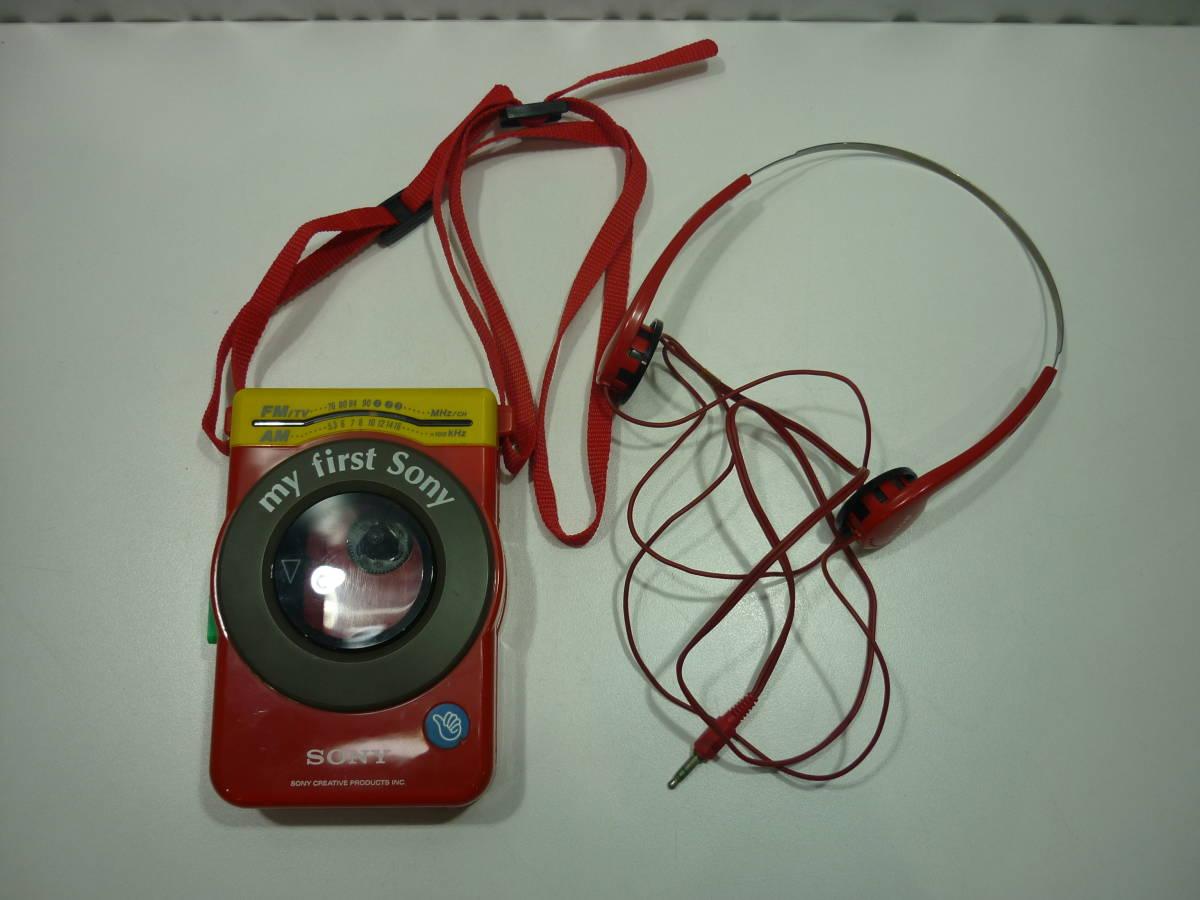 【ジャンク】#9321 SONY / ソニー ラジオカセットプレーヤー ウォークマン WM-F3030