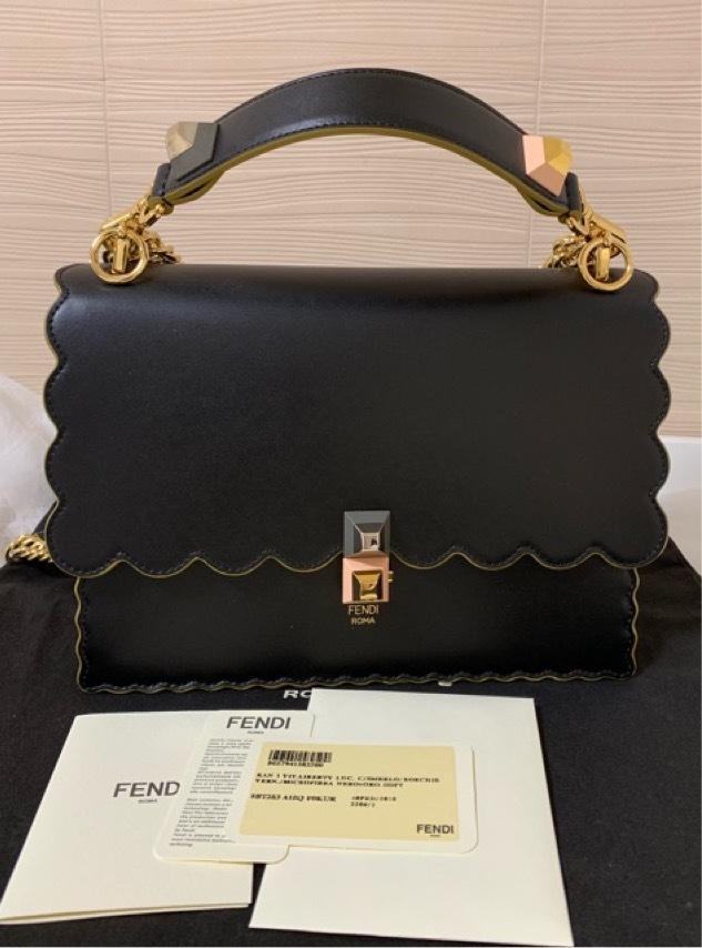 フェンディ FENDI キャナイ 2wayショルダーバッグ 新品 定価267840円 8BT283