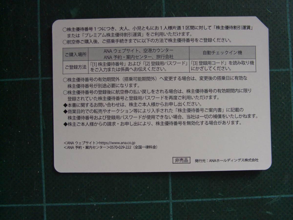 送料無料 ANA株主優待券 4枚セット 11月30日迄有効_画像4