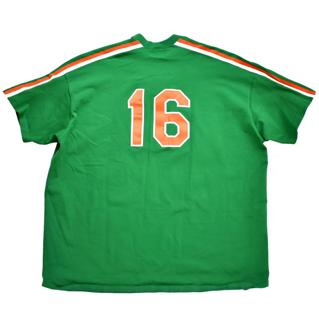 レアサイズ mitchell&ness ミッチェル&ネス NY・Mets メッツ 16 Dwight Gooden セントパトリックスデー ジャージ ユニフォーム size.4XL_画像2