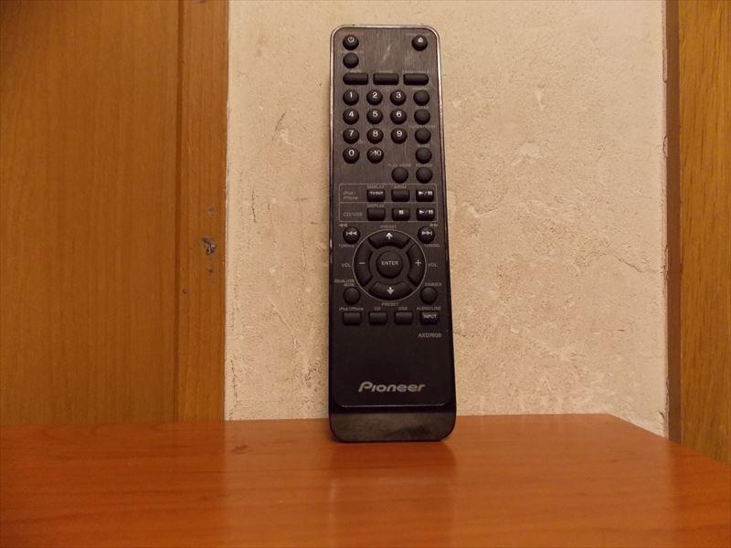 【送料185円】Pioneer AXD7608 X-HM50用リモコン 動作確認済
