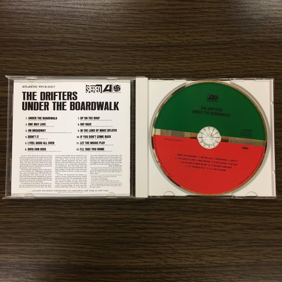 ザ・ドリフターズ★渚のボードウォーク 国内盤CD!