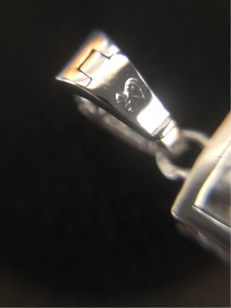 カルティエ スクレ ドゥ ブドゥワール ペンダントトップ クロス フルダイヤ チャーム ホワイトゴールド K18 ダイヤモンド フォルサチェーン_画像3
