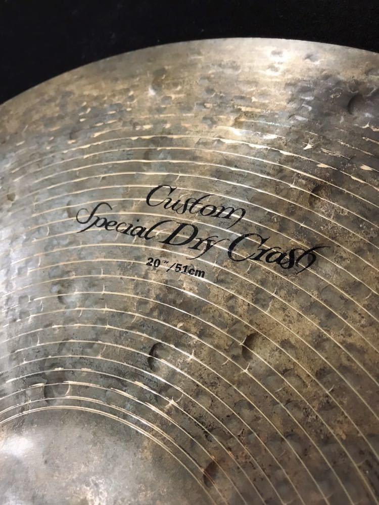 【ほぼ新品!】Zildjian Custom Special Dry Crash 20_画像2
