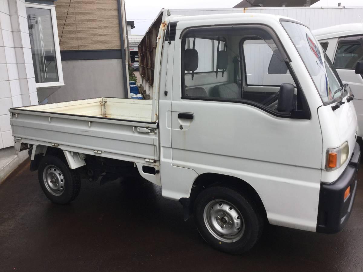 売り切り!! 新潟発!! 平成6年 KS4 スバル サンバー トラック 4WD 5MT 6.7万km 検無し_画像3