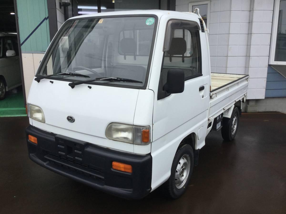 売り切り!! 新潟発!! 平成6年 KS4 スバル サンバー トラック 4WD 5MT 6.7万km 検無し