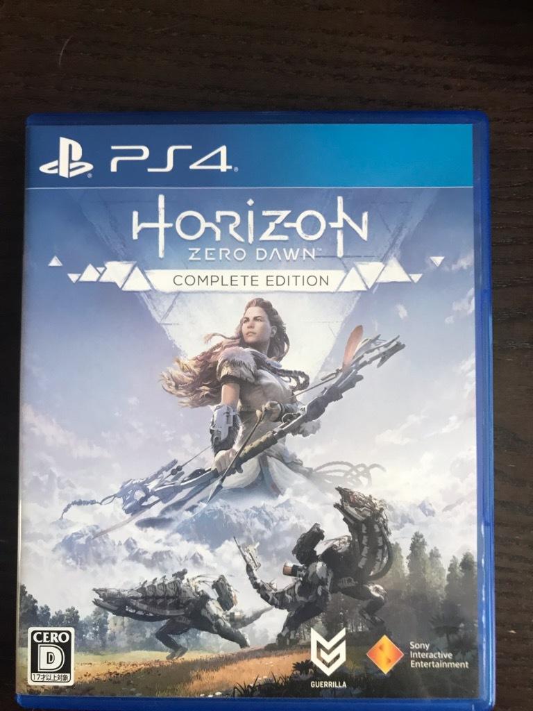 ★送料無料★PS4 ホライゾンゼロドーン Horizon Zero Dawn Complete Edition★中古美品★