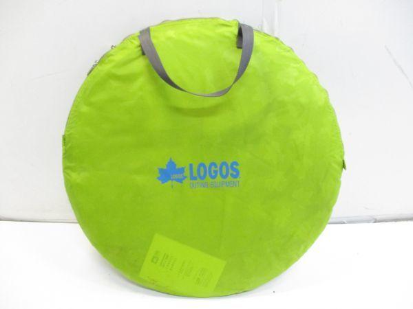 ♪廃番 LOGOS ロゴス サンシェード ポップフルシェルター ポップアップ ワンタッチ テント サンシェード 希少カラー 41513A♪_画像9