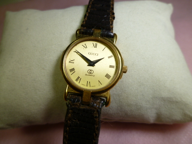 GUCCI グッチ 3400F-L レディース腕時計 SWISSMADE