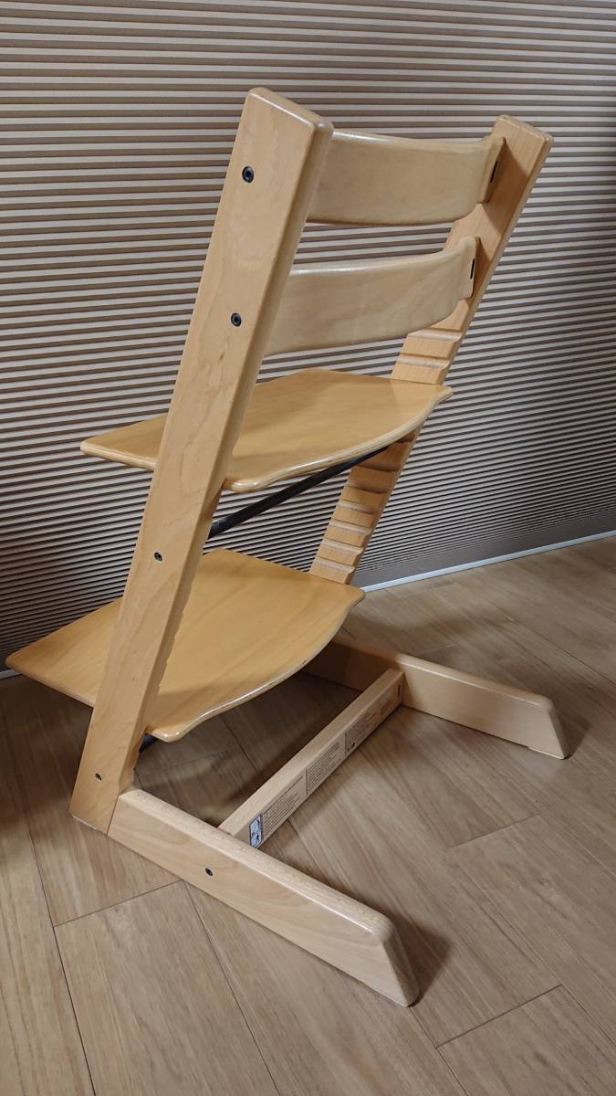 STOKKE ストッケ★TRIPP TRAPP トリップトラップ ナチュラル色 ★ 子供椅子 ベビーチェア_画像2
