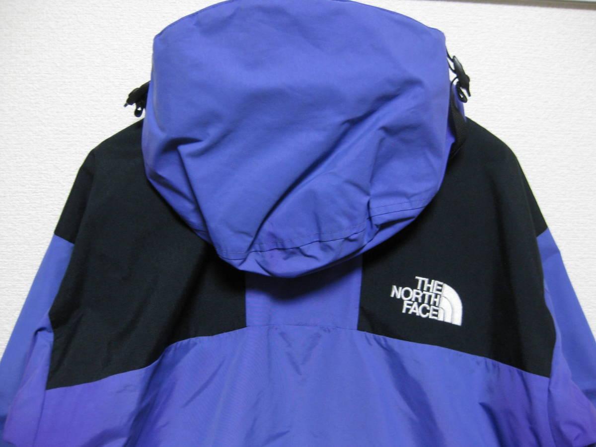 THE NORTH FACE MOUNTAIN JACKET L purple ビンテージ gore tex ラダーロック 1990 GTX vintage arc logo parka 1994 light the apartment_画像3