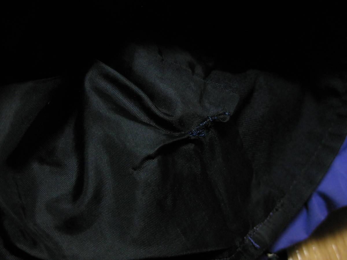 左袖部分内側1cm程の修正跡あり