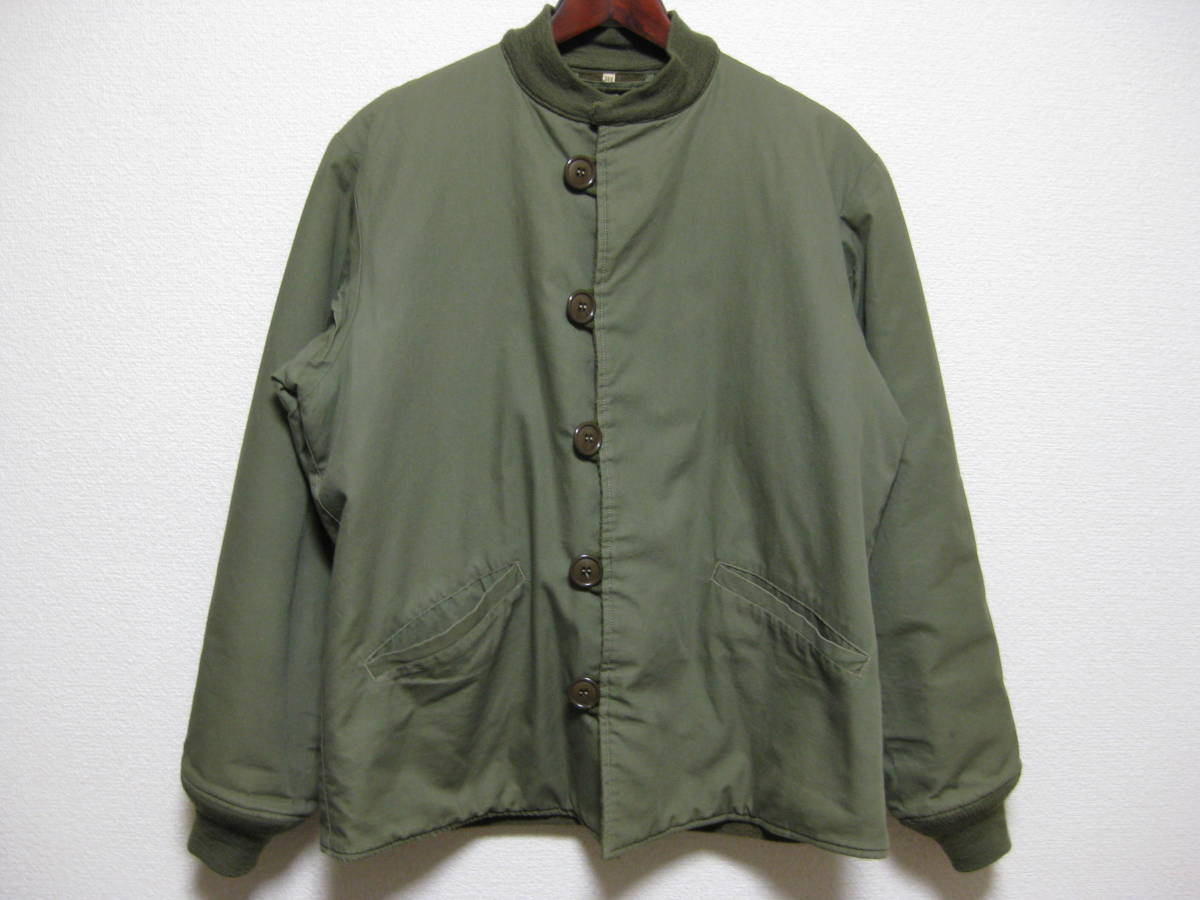 d241955d18 C.C.MASTERS CLOTHING M-43 LINER O.D. 38R pherrows フェローズ PILE FIELD JACKET  butcher products