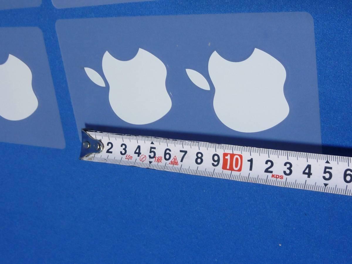 希少 アップル純正 りんごステッカー 正規品シール 大きなサイズ_画像2