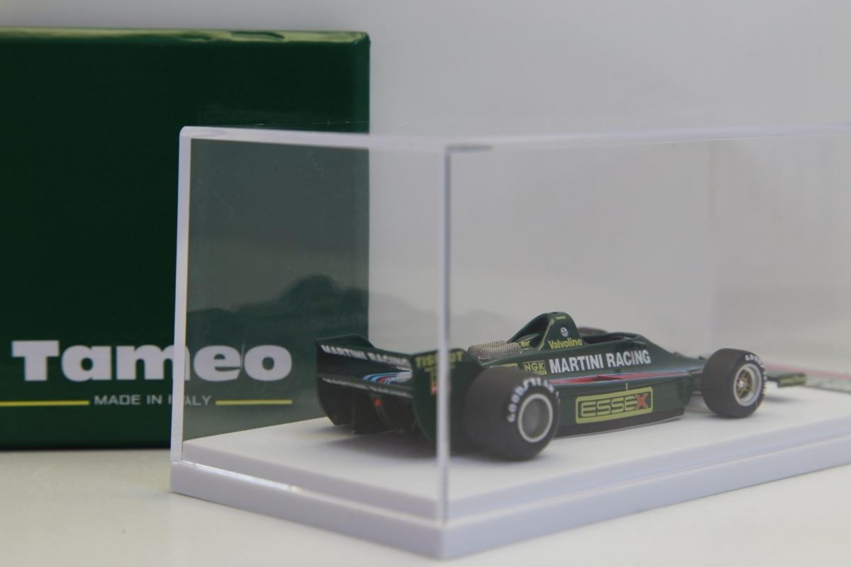 限定99台 タメオ完成品 1/43 マルティニ ロータス80 フォード 1979 スペインGP M.アンドレッティ【TMB52】1904 マリオ_画像6