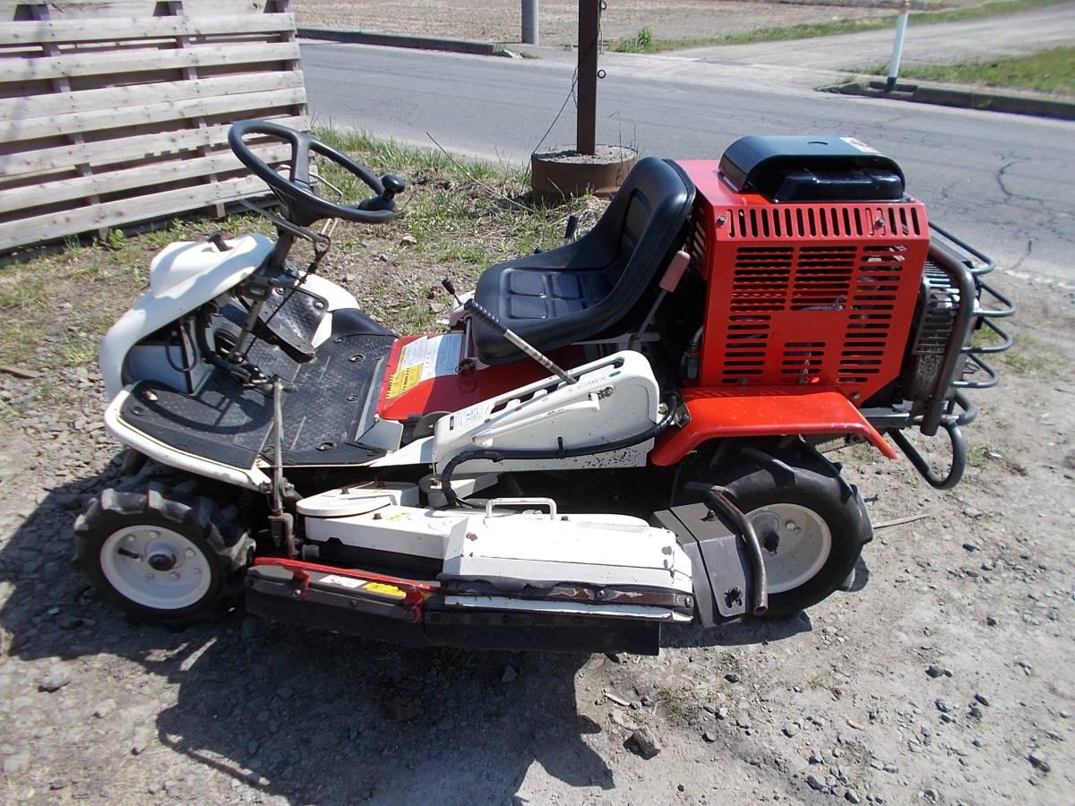 オーレック 乗用草刈機 RMK160 23馬力Vツインエンジン 動作確認済みで快調です。