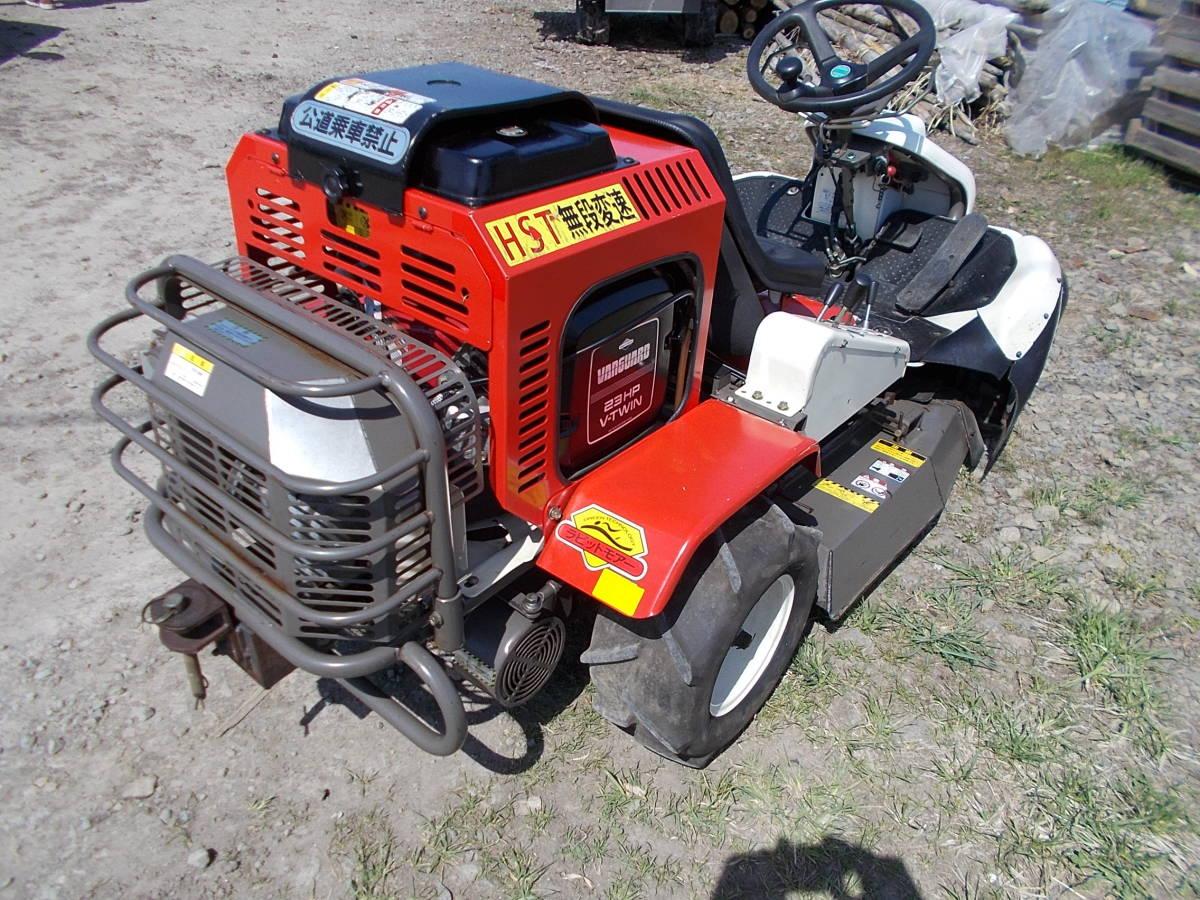 オーレック 乗用草刈機 RMK160 23馬力Vツインエンジン 動作確認済みで快調です。_画像3