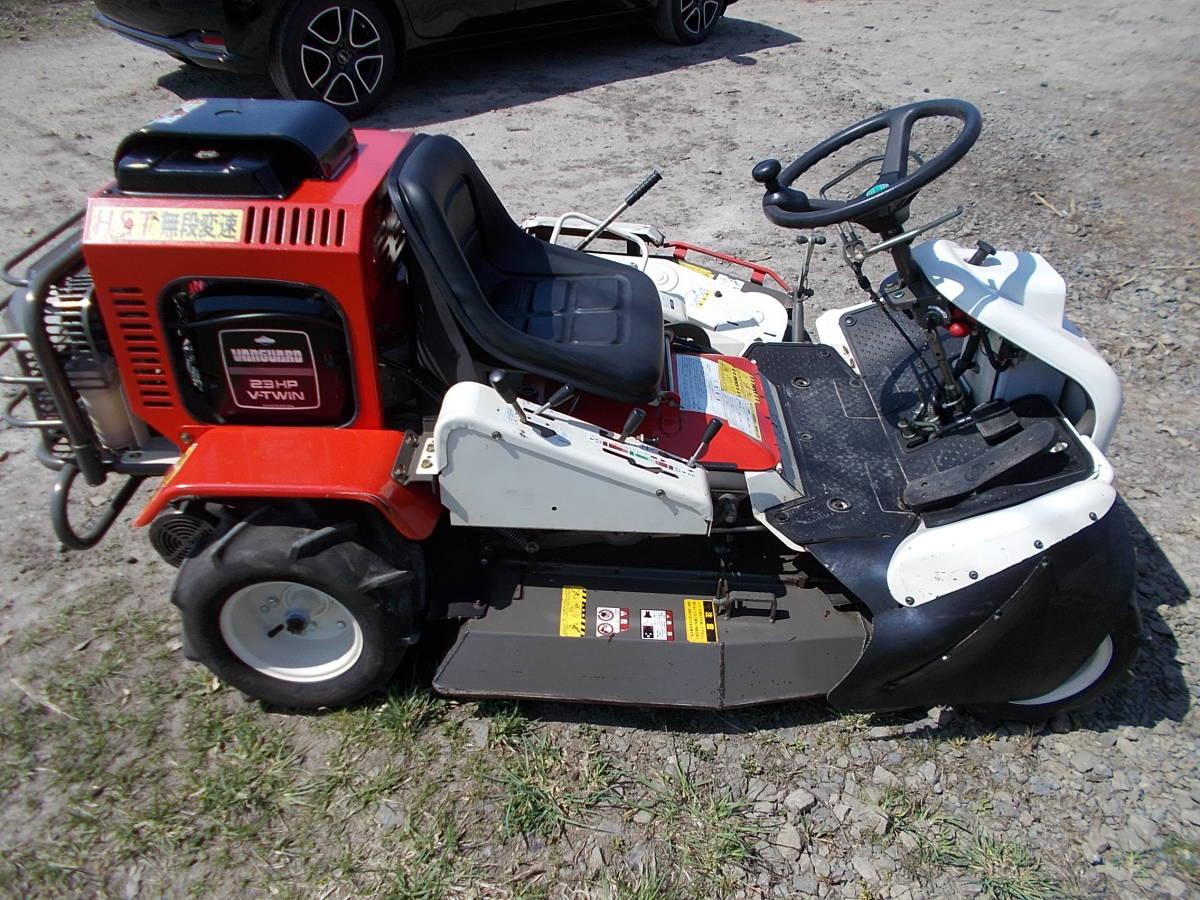 オーレック 乗用草刈機 RMK160 23馬力Vツインエンジン 動作確認済みで快調です。_画像4