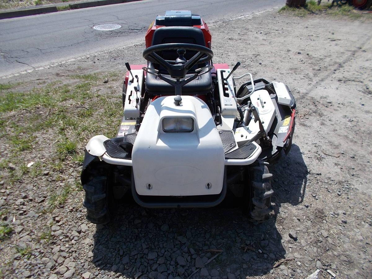 オーレック 乗用草刈機 RMK160 23馬力Vツインエンジン 動作確認済みで快調です。_画像6