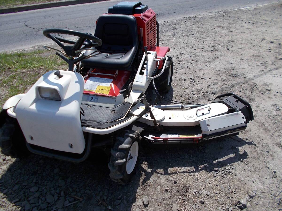 オーレック 乗用草刈機 RMK160 23馬力Vツインエンジン 動作確認済みで快調です。_画像7