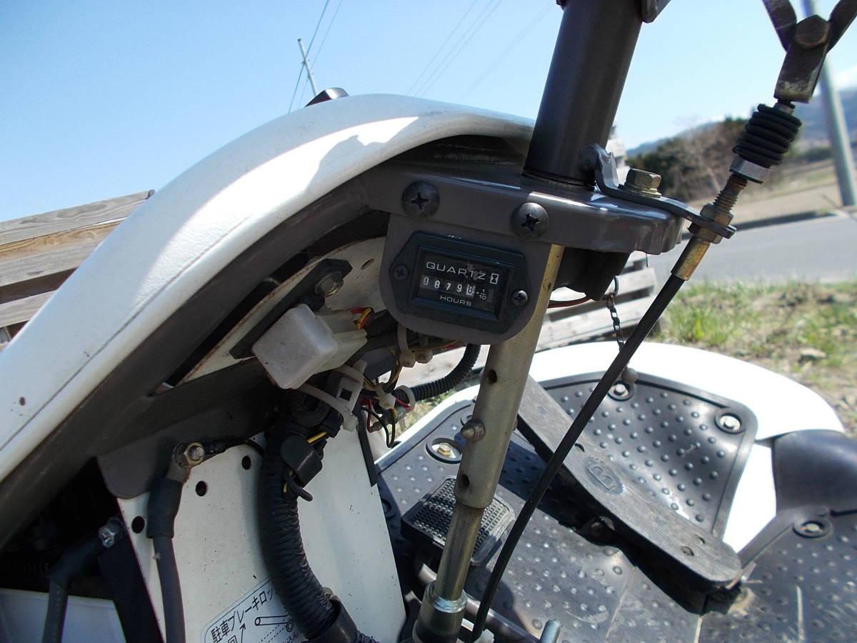 オーレック 乗用草刈機 RMK160 23馬力Vツインエンジン 動作確認済みで快調です。_画像9