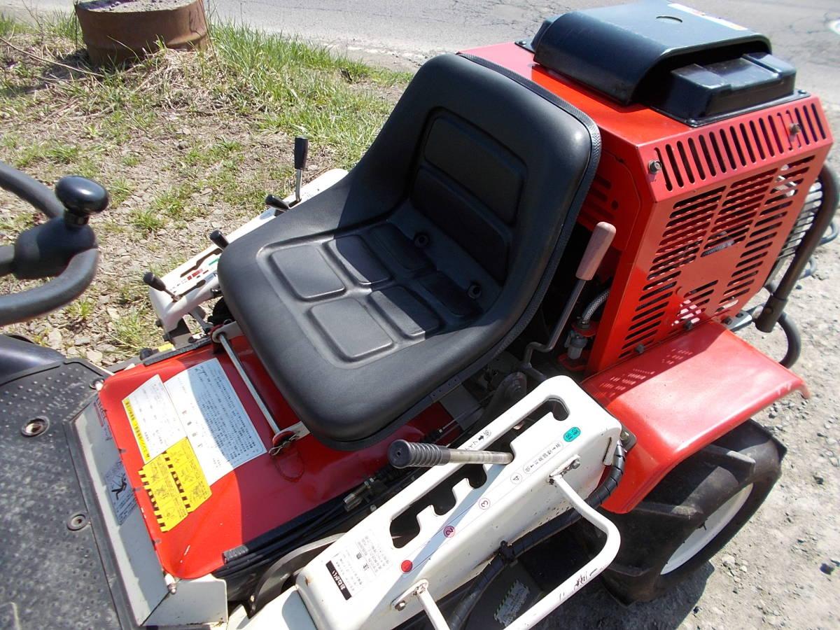 オーレック 乗用草刈機 RMK160 23馬力Vツインエンジン 動作確認済みで快調です。_画像10