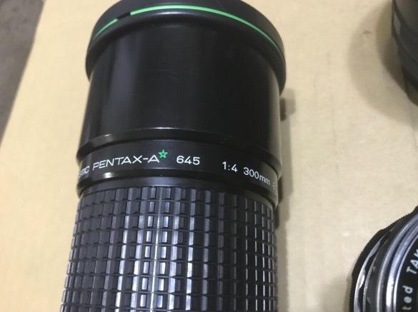 PENTAX 6×7 105mm 1:2.4 + ファインダー + PENTAX-A ☆ 645 1:4 300mm + Mamiya RB67 レンズセット × 2 他色々 ペンタックス_画像5