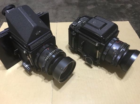 PENTAX 6×7 105mm 1:2.4 + ファインダー + PENTAX-A ☆ 645 1:4 300mm + Mamiya RB67 レンズセット × 2 他色々 ペンタックス_画像2