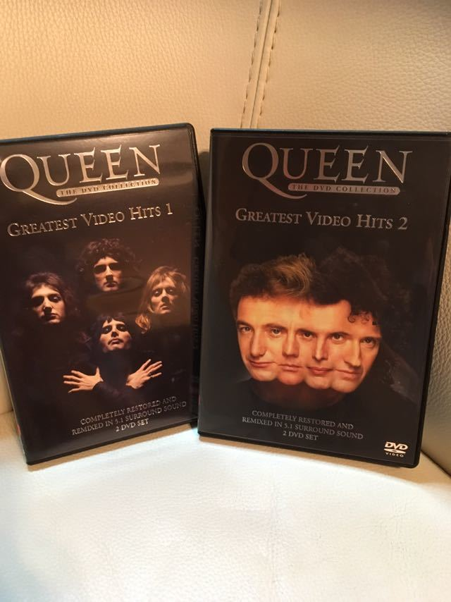 【未使用品】QUEEN クイーン、グレイテスト ビデオ ヒッツ DVD 1.2、フレディ マーキュリー FREDDIE MERCURY、ボヘミアン ラプソディー。_画像8