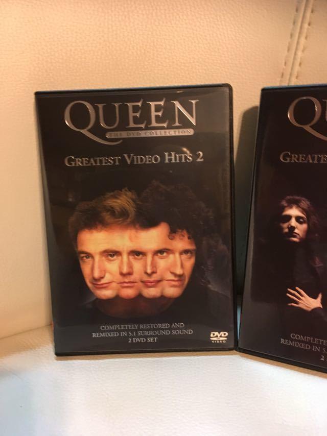 【未使用品】QUEEN クイーン、グレイテスト ビデオ ヒッツ DVD 1.2、フレディ マーキュリー FREDDIE MERCURY、ボヘミアン ラプソディー。_画像2