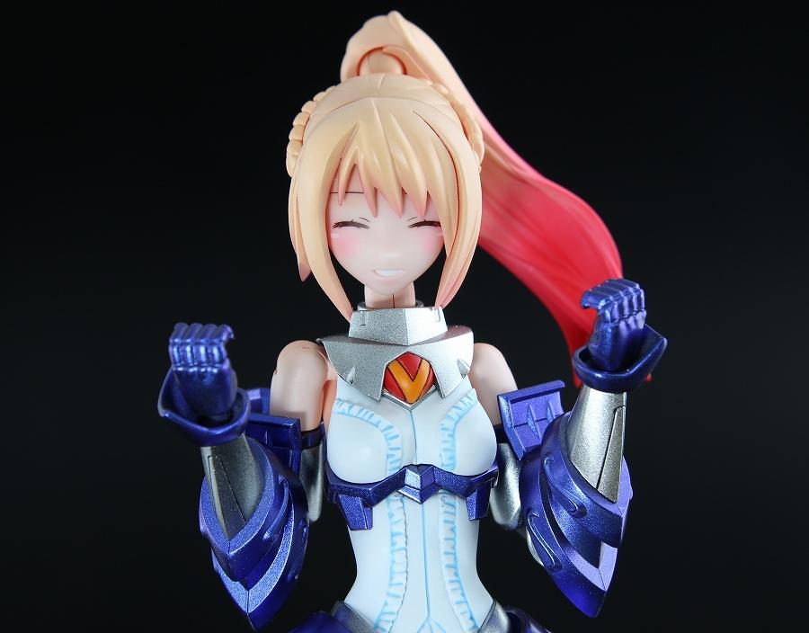 装甲娘 ミカヅキカリナ 改修塗装完成品 フレームアームズ・ガール メガミデバイス_画像3