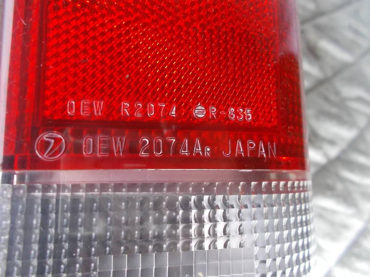 送料無料○KV3 サンバー 純正テールライト テールランプ 右 中古 OEW 2074A _画像8