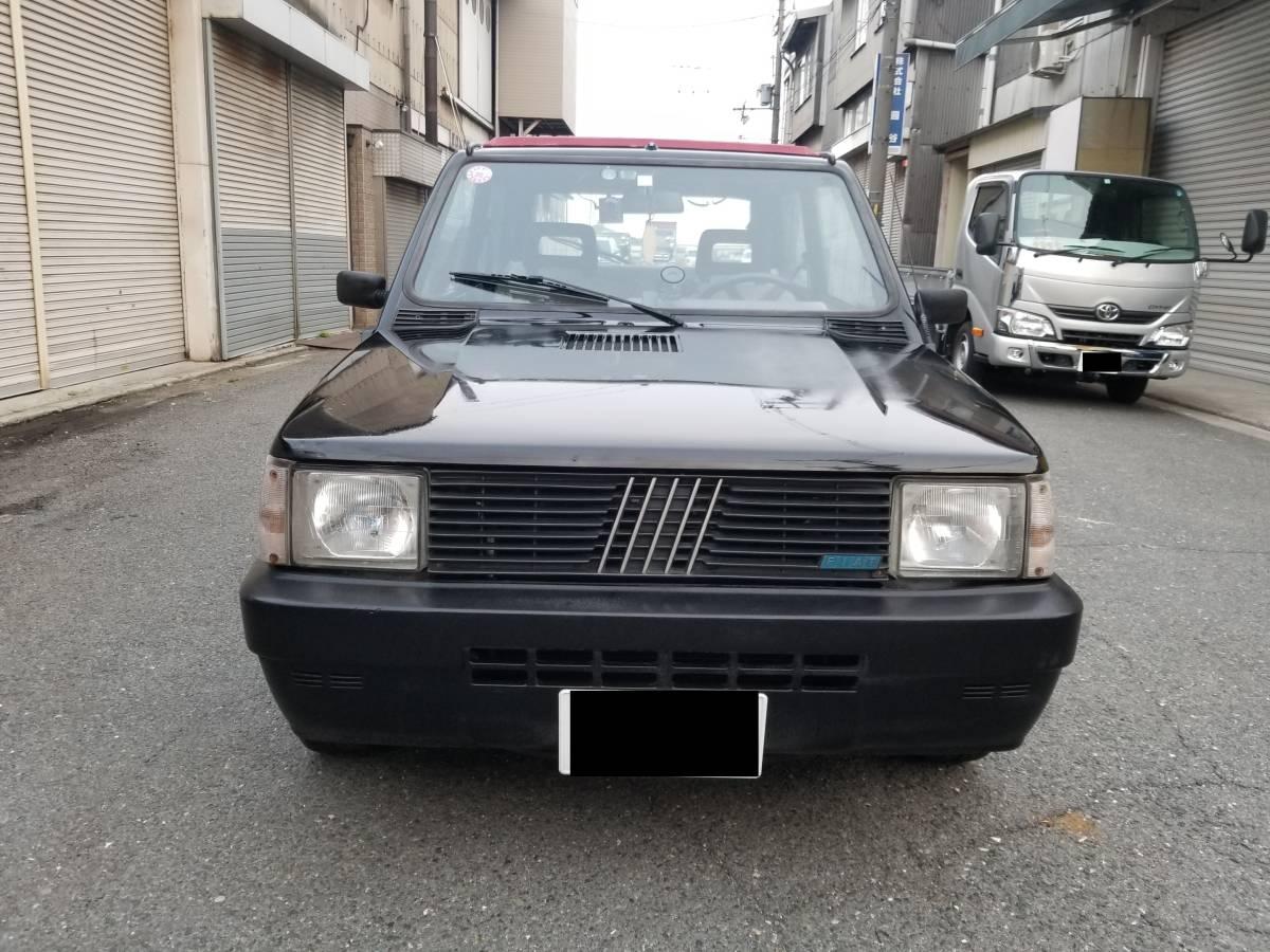 ■FIAT旧PANDA 黒MT個人出品売切 大阪より■_画像5