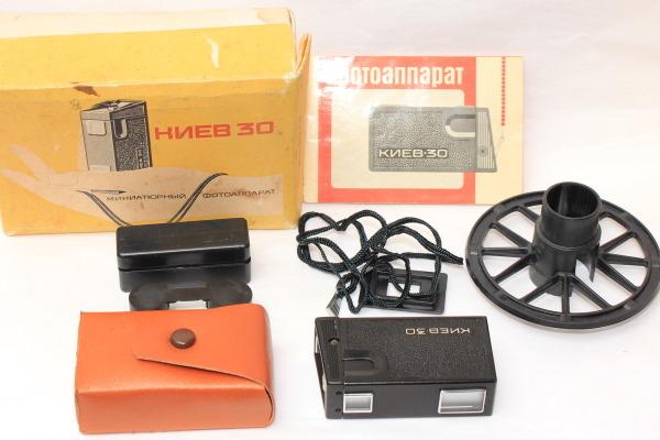 KIEV30 キエフ30 ロシア16mmフィルムカメラ USSR 元箱 取説付