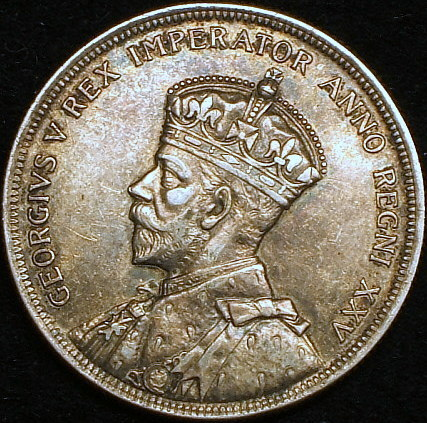 【英領カナダ大型銀貨】(1935年銘 23.3g トーン)_画像2