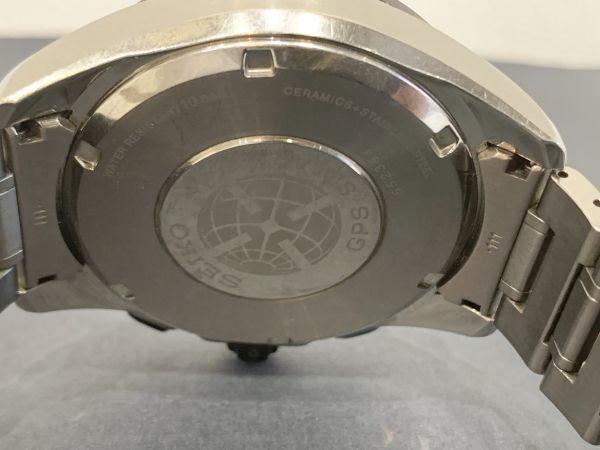 Σ 美品【Aランク】SEIKO セイコー アストロン メンズ GPS 電波ソーラー腕時計 8X53-0AD0-2 箱/取扱説明書/余りコマ BA-2784_画像7