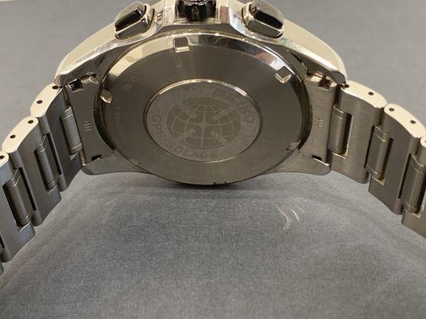 Σ 美品【Aランク】SEIKO セイコー アストロン メンズ GPS 電波ソーラー腕時計 8X53-0AD0-2 箱/取扱説明書/余りコマ BA-2784_画像6