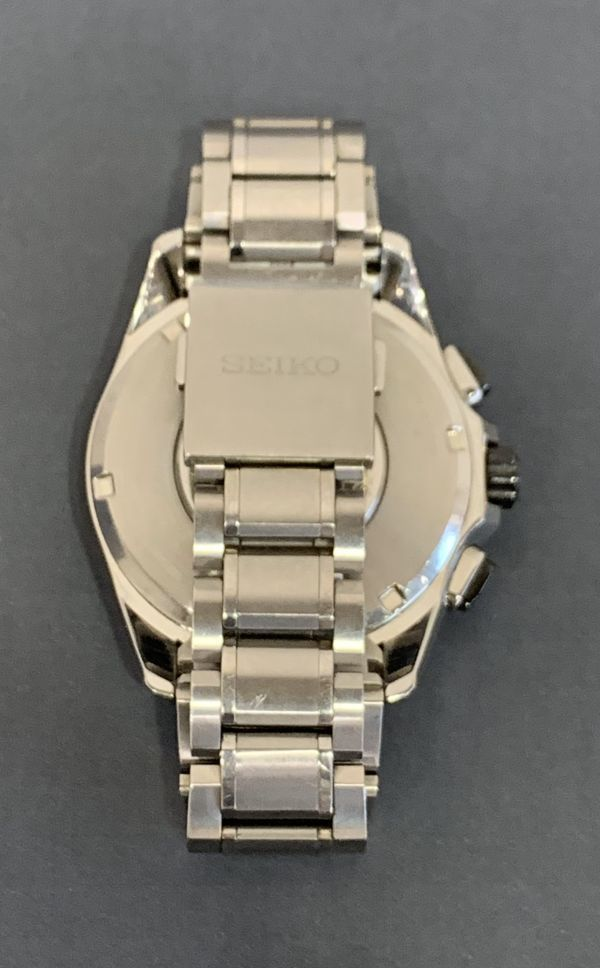 Σ 美品【Aランク】SEIKO セイコー アストロン メンズ GPS 電波ソーラー腕時計 8X53-0AD0-2 箱/取扱説明書/余りコマ BA-2784_画像8