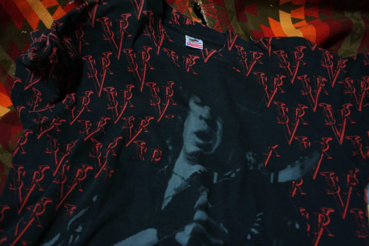 希少 総柄 90s ビンテージ SVR バンド Tシャツ ■ ■ エリック クラプトン ■ ■ 80s ガンズ メタリカ ニルヴァーナ レッチリ 40s 50s 60s_画像5